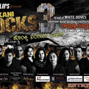 Konkani Rocks 3 - 29 Jan 2017 - St Agens, Bendore, Mangalore
