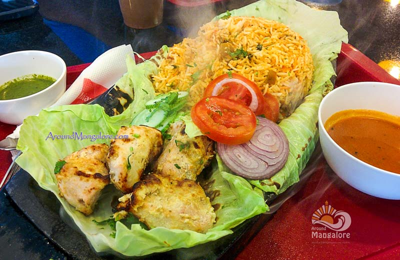 Chicken Malai Tikka Sizzler - Indian Tadka, The Forum Fiza Mall, Mangalore