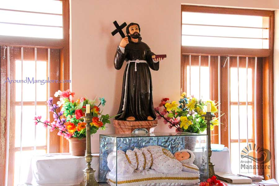 St. Francis of Assisi - Monte Mariano Church - Convent - Farangipet - the Origin of Monthi Fest - Farangipet, Mangalore