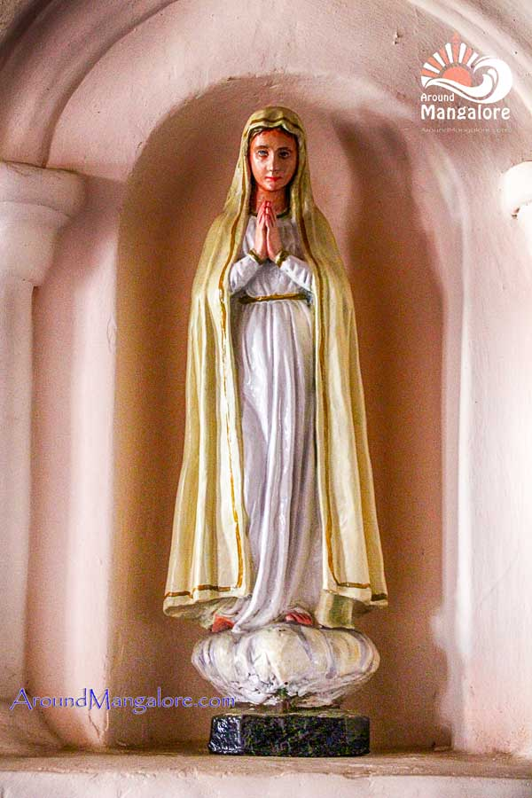 The statue of Infant Mary - Monte Mariano Church - Convent - Farangipet - the Origin of Monthi Fest - Farangipet, Mangalore