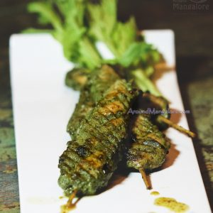 Chermoula Chicken Skewers - The Last Stop Lounge, Mangalore
