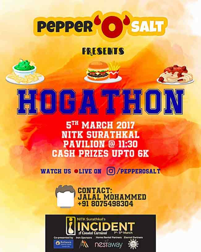 Hogathon - 05 Mar 2017 - Incident, NITK Surathkal
