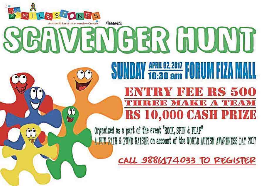 Scavenger Hunt - 02 Apr 2017 - Fourm Fiza Mall, Mangalore