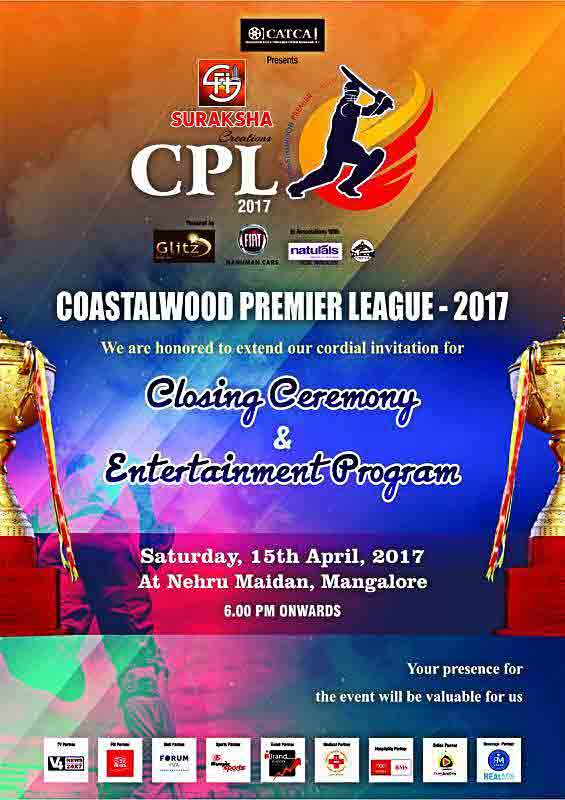 CPL 2017 - Closing Ceremony - 15 Apr 2017 - Nehru Maidan, Mangalore