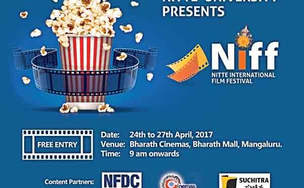 NIFF - NITTE International Film Festival - 24 to 27 Apr 2017