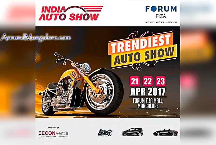 Trendiest Auto Show - 21, 22 & 23 Apr 2017 - Forum Fiza Mall, Mangalore