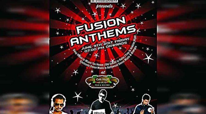 Fusion Anthems - 9 Jun 2017 - Cafe Mojo, Mangalore