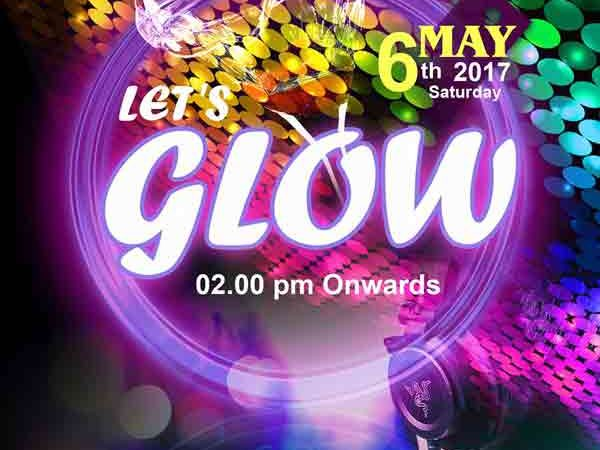 LET'S GLOW - 6 May 2017 - Café Mojo, Mangalore