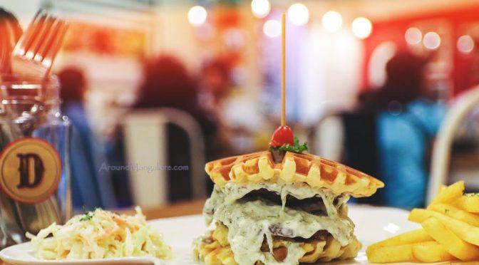 Sheikh Shack Burger - Diesel Café, Mangalore