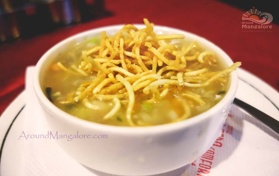 Chicken Manchow Soup - Aroma, Hotel Deepa Comforts