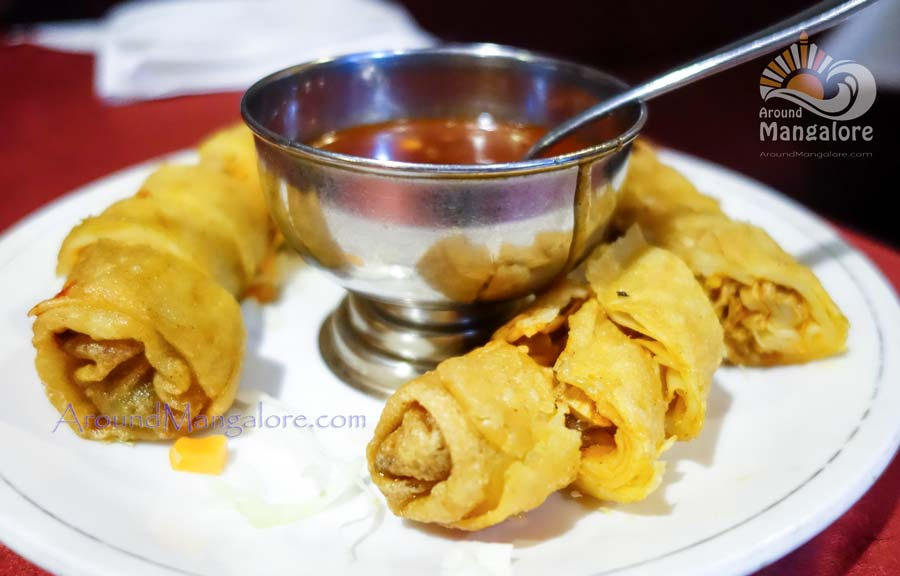 Chicken Spring Roll - Aroma - Hotel Deepa Comforts, MG Road, Kodailbail, Mangalore