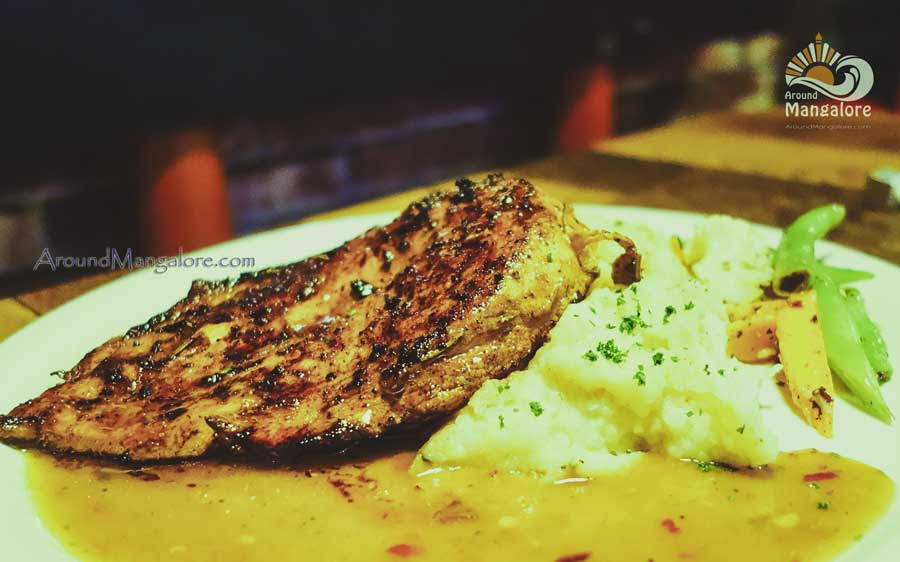 Chicken Steak - Boiler Room – The Urban Lounge Bar, Mangalore