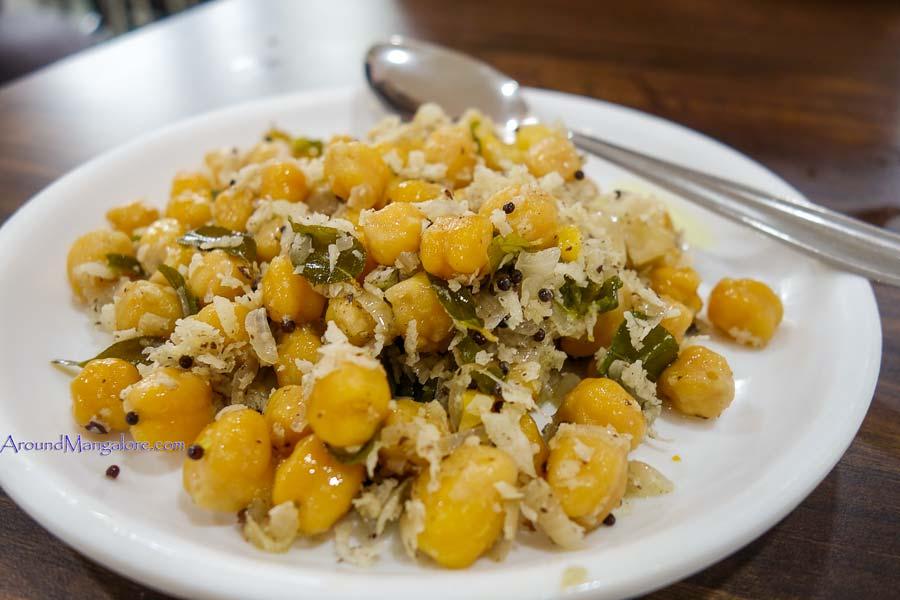 Chickpea (Kadala) - Adithi Veg Restaurant - Mallikatte, Mangalore