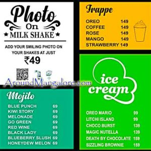 Food Menu - Shake Factory - Hampankatta, Mangalore