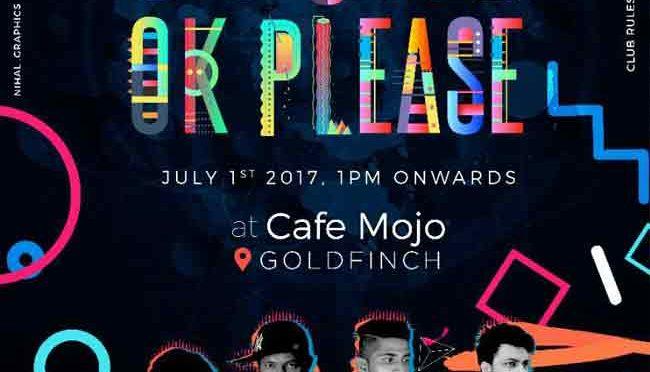 Sound Ok Please - 01 Jul 2017 - Cafe Mojo, Goldfinch, Mangalore