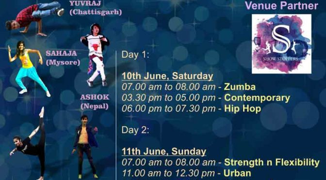 The Bailamos Tour - Jun 2017 - Show Stoppers Dance Institute, Kankanady, Mangalore