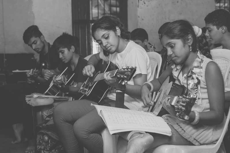The Music For Change Trust - music to the underprivileged - Kadri, Mangalore
