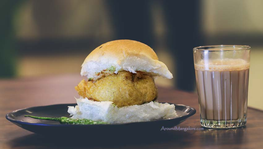Vada Pav and Cutting Chai Mumbai Street Kitchen Mangalore - Mumbai Street Kitchen - Hampankatta