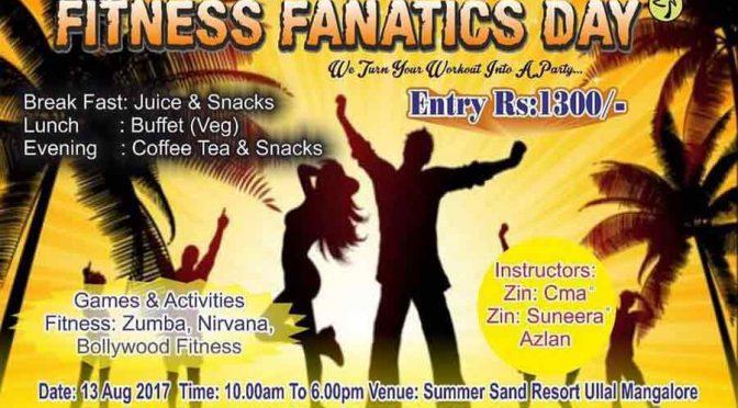 Fitness Fanatics Day - 13 Aug 2017 - Hygeia Fir n Cure - Summer Sand Resort, Mangalore