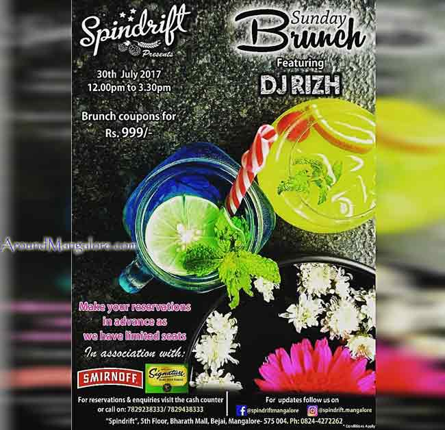 Sunday Brunch - 30 Jul 2017 - Spindrift, Mangalore