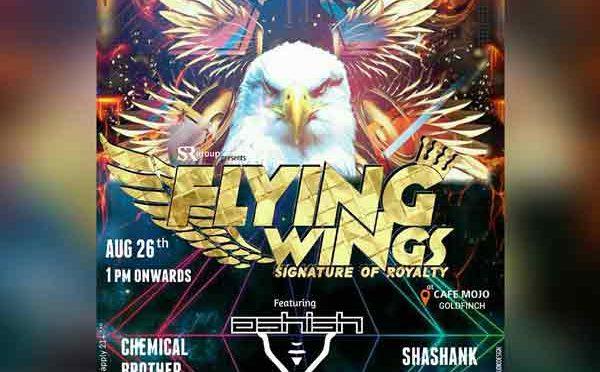 Flying Wings - 26 Aug 2017 - Cafe Mojo, Mangalore