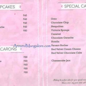 Cake Menu - Capella Patisserie