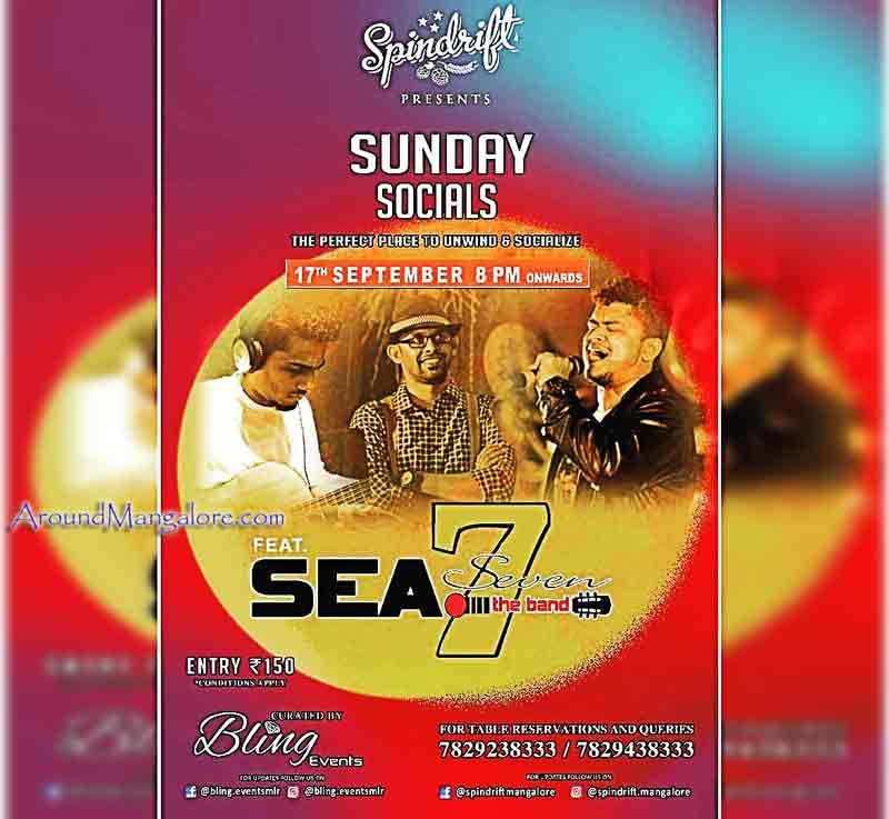 Sunday Socials - 17 Sep 2017 - Spindrift, Mangalore