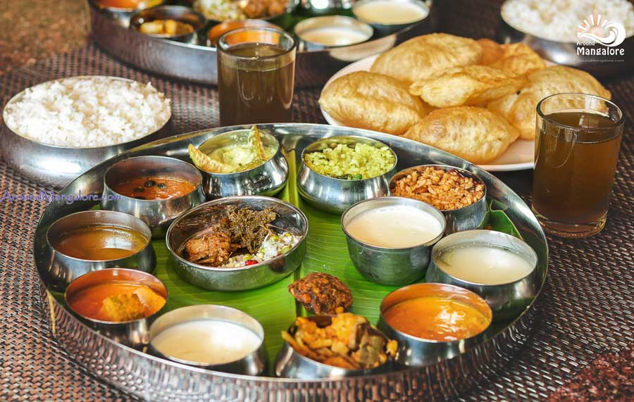 Thali Meals - Palm Grove Restaurant – Hotel BMS, Mangalore
