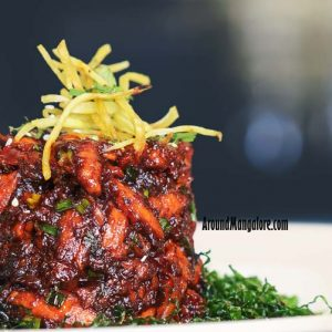 Crackling Chicken - ONYX Air Lounge, Mangalore