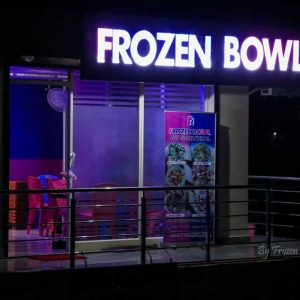 Frozen Bowl - Roll Ice Cream - Moodabidri, Mangalore