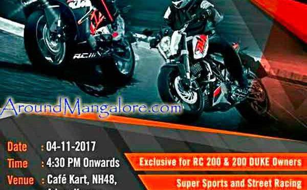 Sat 4 Nov 2017 at 04:30 pm Café Kart, NH73, Kannur, Mangalore, India