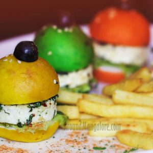 Paneer Slider - ONYX Air Lounge, Mangalore