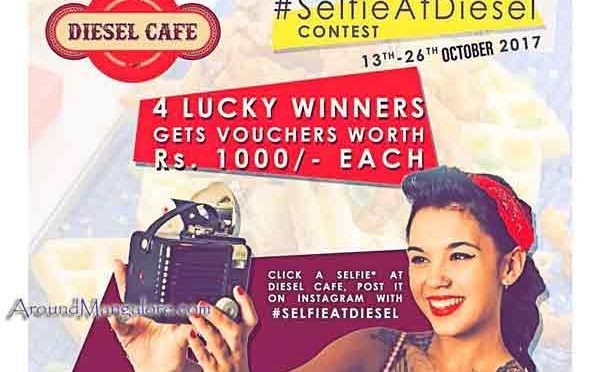Selfie At Diesel Cafe Contest - 13 to 26 Oct 2017 - Mangalore - Event