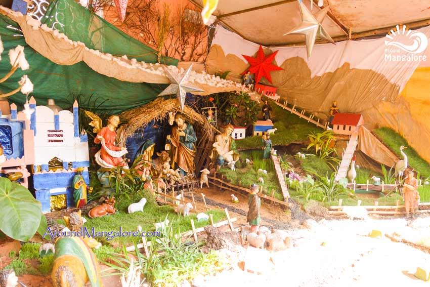 Bishop's House, Mangalore - Christmas Crib 2017