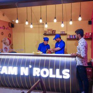 Cream N Rolls - Ice Cream Parlor - Mallikatta, Mangalore
