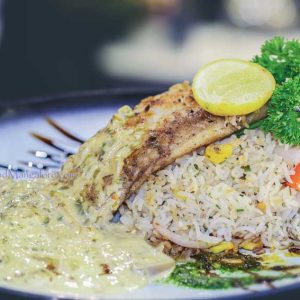 Fish Pescador Cassia - Thyme (Spindrift) - Family Restaurant - Bharath Mall, Mangalore