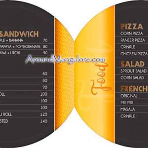 Food Menu - DRNK Lab - Light House Hill Road, Hampankatta, Mangalore
