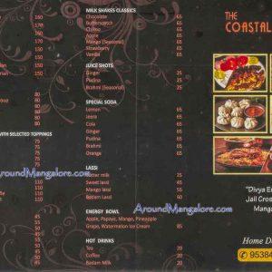 Food Menu - The Coastal Chicken - Divya Enclave, Kodailbail, Jail Cross Road, Mangalore