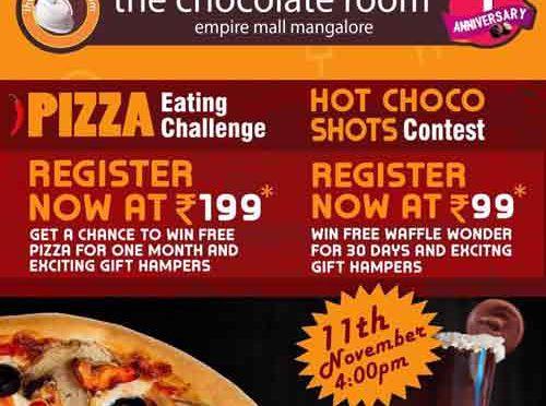 Food Wars - 11 Nov 2017 - Pizza Eating Challenge - Event