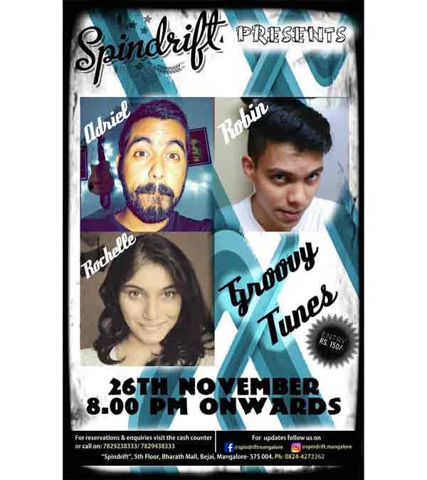 Groovy Tunes - 26 Nov 2017 - Spindrift, Mangalore - Event