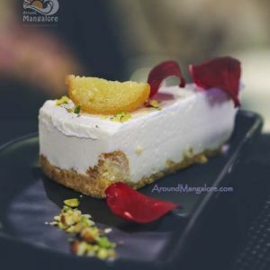 Gulab Jamoon Cheese Cake - Thyme (Spindrift) - Family Restaurant - Bharath Mall, Mangalore