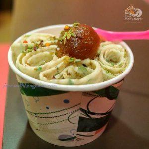 Gulab Jamun Paan - Cream N Rolls - Ice Cream Parlor - Mallikatta, Mangalore