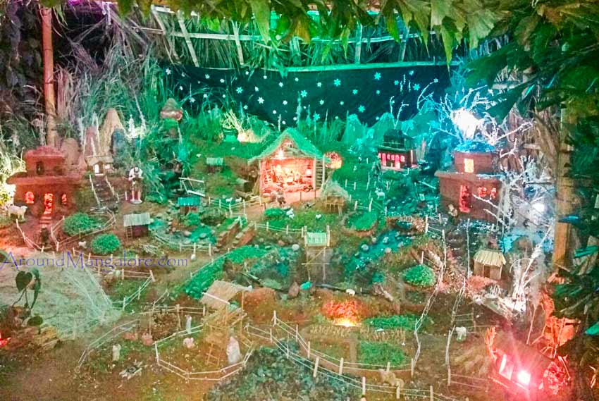 Monte Mariano Convent, Faringepet, Mangalore - Christmas Crib 2017