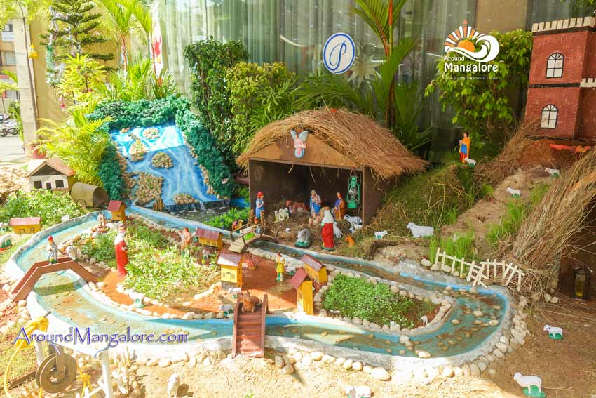 Ocean Pearl, Mangalore - Christmas Crib 2017