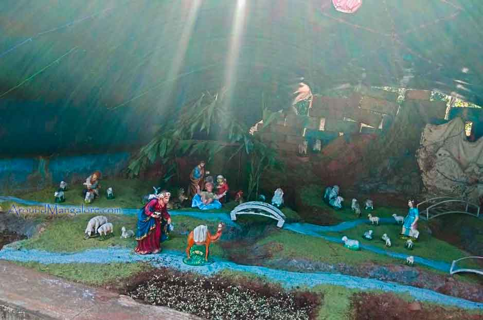 St Pius Church - Palimar, Mangalore - Christmas Crib 2017