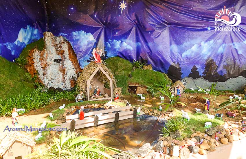 St. Joseph Church, Jeppu, Mangalore - Christmas Crib 2017