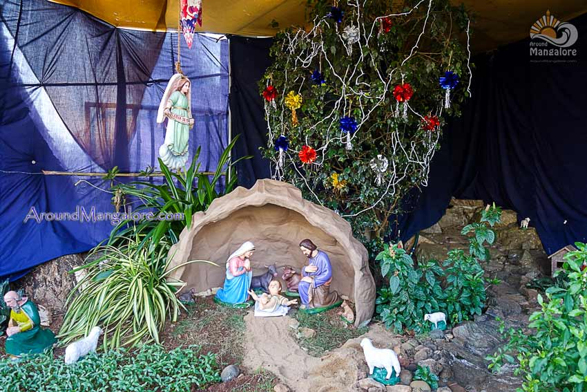 St. Sebastian Church, Bendoor, Mangalore - Christmas Crib 2017