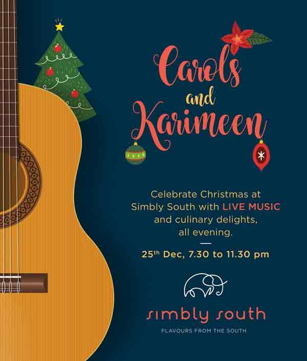 Carols and Karimeen - 25 Dec 2017 - Simbly South, Mangalore