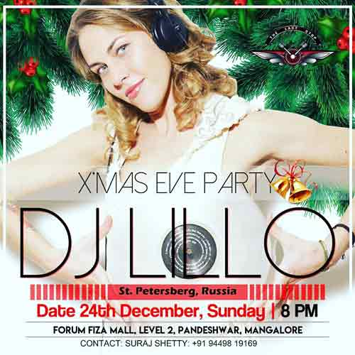 Christmas Eve Party - 24 Dec 2017 - The LAST STOP Lounge, Mangalore