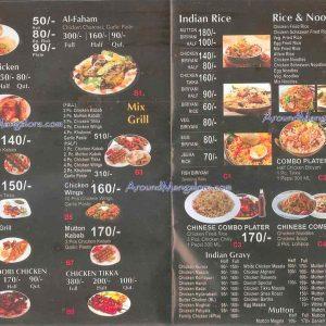 Food Menu - Mexican Hot n Spicy - Valencia, Mangalore